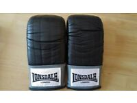 Lonsdale leather Bag Mitt - Never Used