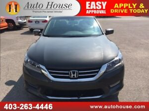 2013 HONDA ACCORD SEDAN EX-L LEATHER BACKUP CAMERA