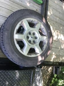 "Ford F-150 20"" Factory Rims + Goodyear Tires"