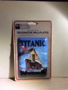 Titanic  wall switch plate cover