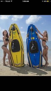 2x Powered surfboard 150 cc  price to sell