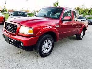 2008 FORD RANGER EXTENDED CAB SPORT, LOOKS AND RUNS EXCELLENT!!!