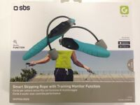 ( New and Sealed ) SBS Smart Wireless Skipping Rope - Blue