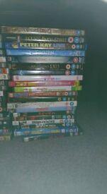 50 varied dvds for sale