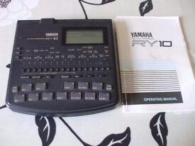 Yamaha RY10 Classic drum machine