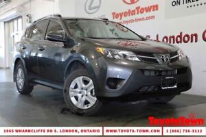 2014 Toyota RAV4 SINGLE OWNER LE AWD HEATED SEATS & BACKUP CAMER