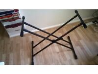 Heavy duty Keyboard stand as new Collection only