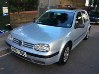 VW GOLF 1,6 SE AUTOMATIC 2000-W REG SILVER