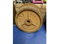 25 KG BodyPower Olympic Weight Plates