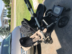 City Select Double Stroller with Glider Board