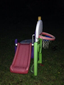 Step 2 SLIDE Basketball Soccer all in one SPORTS CLIMBER