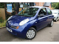 NISSAN MICRA 999CC,2004 , IDEAL 1ST CAR, NEW 12 MONTHS MOT . TAXED ONLINE,