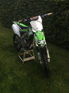 2017 Kx250f for sale