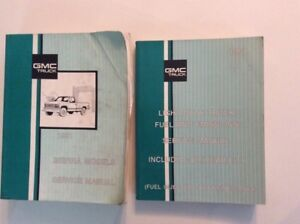 GMC FACTORY SHOP MANUALS