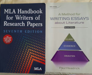 MLA Handbook and Writing Essays