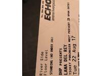 2 tickets Lana del rey