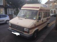 G reg Fiat tabbert 4 berth motorhome/camper van