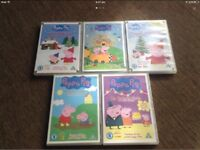 DVD Peppa Pig Collection x5