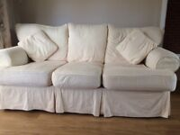 2 seater and 3 seater sofa with washable covers