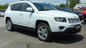 2016 Jeep Compass HIGH ALTITUDE 4X4 - LEATHER- SUNROOF - 9,600 K