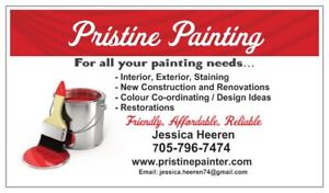 Professional interior and exterior painting.