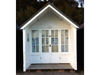 BEACH HUT FOR HIRE/RENT BRANKSOME CHINE--NEAR ALL AMENITIES £30 per day