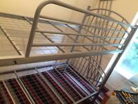 Bunk bed with 2 mattresses going cheap