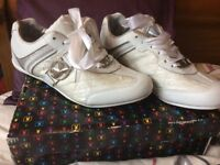 Playboy White Trainers