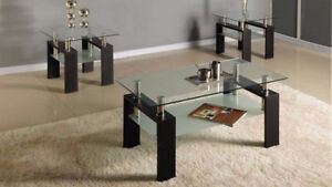 Beautiful 3 piece coffee table set (BEST PRICE, PAY ON DELIVE