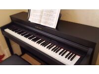 Yamaha digital piano CLP 430 black, excellent condition