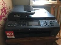 Brother MFC5895CW Colour Multifunction Printer/Fax and two spare cartridges