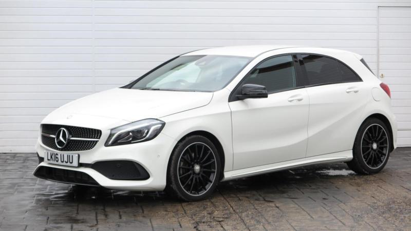 2016 mercedes benz a class 2016 16 mercedes a class a180d amg line premium 1 5d in. Black Bedroom Furniture Sets. Home Design Ideas
