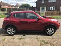 Nissan Juke 1.6 engine in red - low mileage, good condition