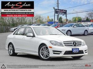 2013 Mercedes-Benz C-Class 4Matic C300 AWD ONLY 99K! **SPORT...