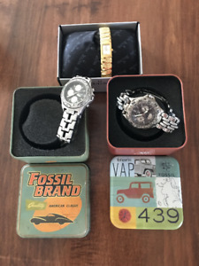 Bulova and Fossil Watches