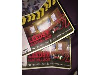LEEDS FESTIVAL x2 full weekend camping tickets