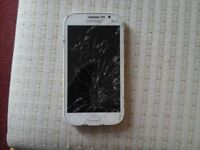 I sell samsung grand neo duos. The display is cracked