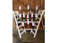 Wedding wooden ladders