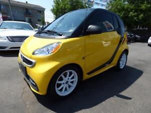2014 SMART FORTWO ELECTRIC DRIVE (TOIT PANO, NAVI, BT, CRUISE!!)