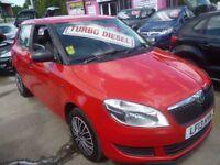 Skoda FABIA 1.6 S TDI CR 90,5 dr hatchback,FSH,1 previous owner,£20 yr tax,12 month AA gold warranty