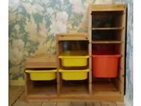 Under-stair storage unit