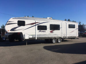 2013Puma 5th wheel bunkhouse