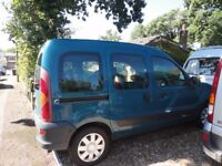 Disability Car, Renault Kangoo, 1.2 Petrol Manual, Good Runner