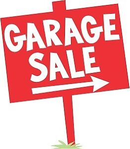Aug. 12 Garage Sale One Day Only
