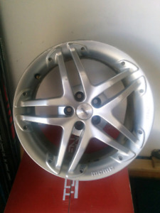 "MOMO wheels 16"", 5x100 bolt pattern (2 are damaged)"