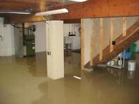 Basement flooding? Have us ad a sump pit to avoid the headache!