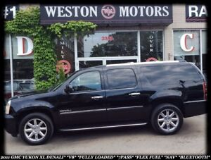 2011 GMC Yukon Denali XL *V8 *FULLY LOADED *7PASS *FLEX FUEL *BT