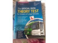 Theory test for drivers of large vehicles