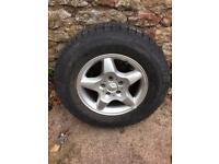Mercedes ml alloy wheel 16