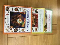 Set of 3 Cookery books - collection only